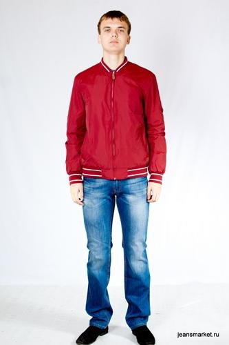 С чем носить мужскую красную рубашку фото